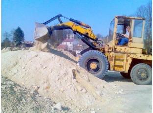 Stavební materiál za odvoz