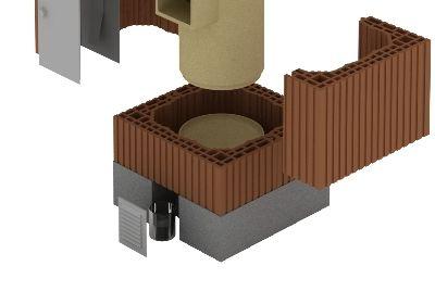 Keramické vložky do komína
