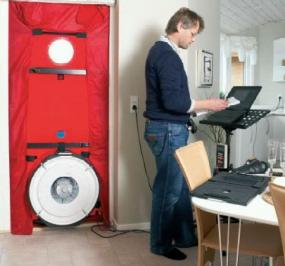 Foto: BLOWER DOOR TEST