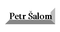 Petr Šalom - truhlář